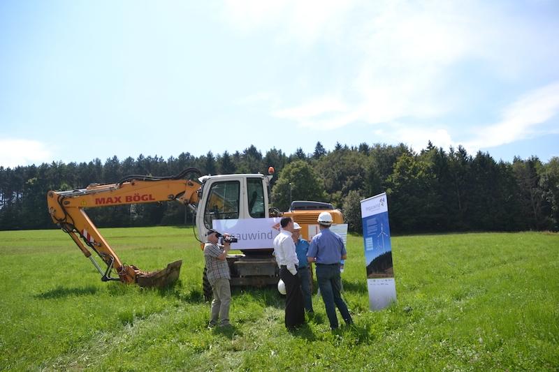Das Landratsamt hat für den Tengener Windpark eine Teilbaufreigabe erteilt. swb-Bild: Archiv/mu